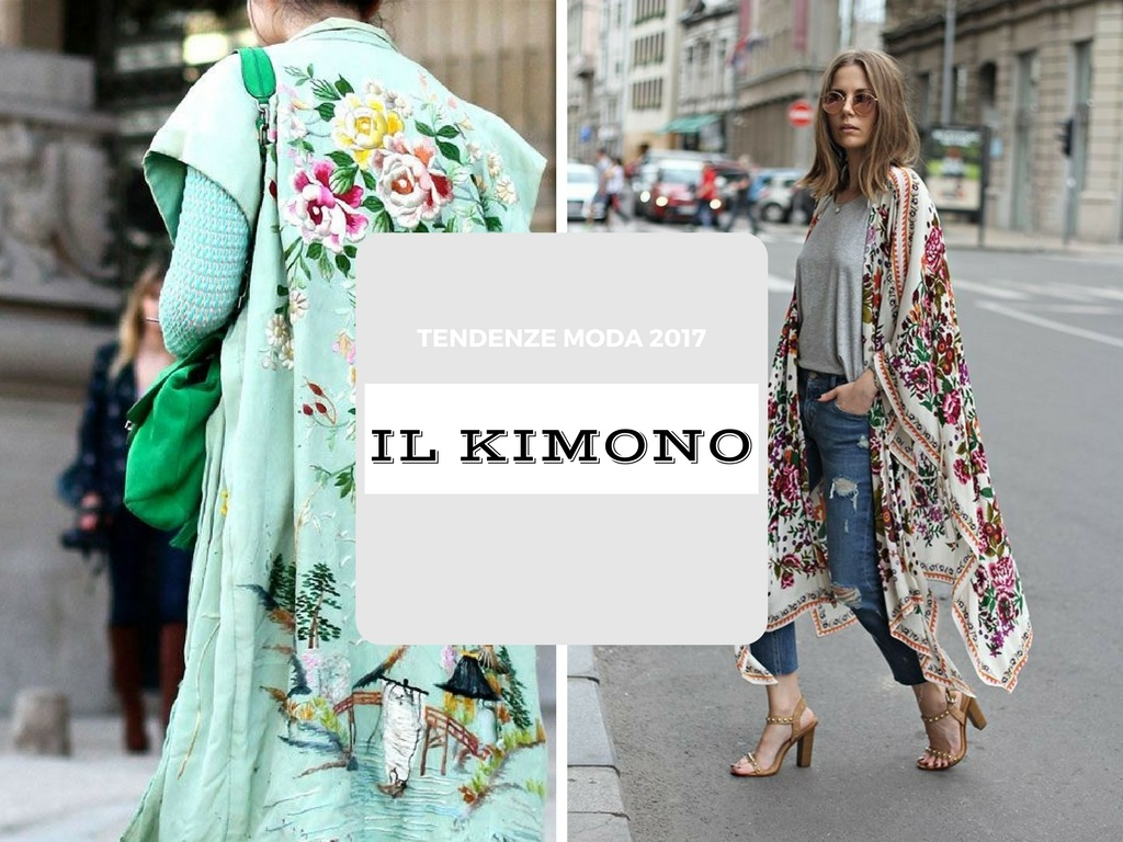 come abbinare il kimono l'ultima tendenza moda
