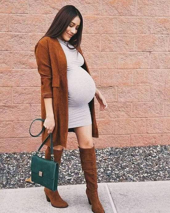 abbigliamento gravidanza in inverno