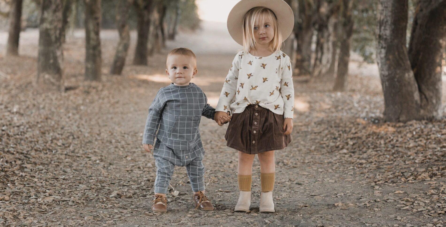 Abbigliamento stile nordic per bambini