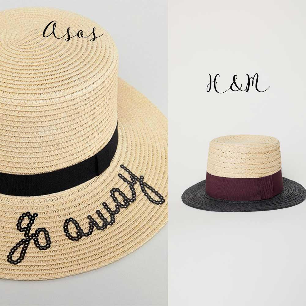 accessori estate 2018 cappelli in paglia