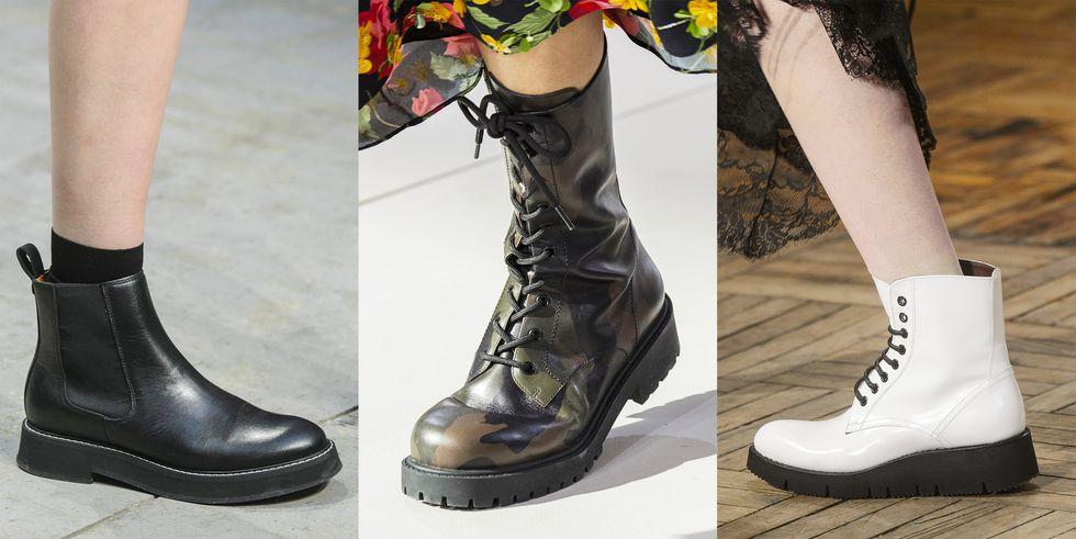 scarpe di tendenza anfibi