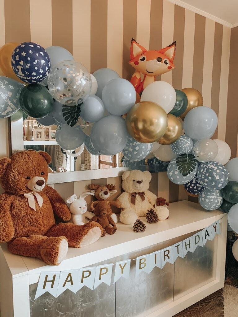 arco palloncini festa compleanno