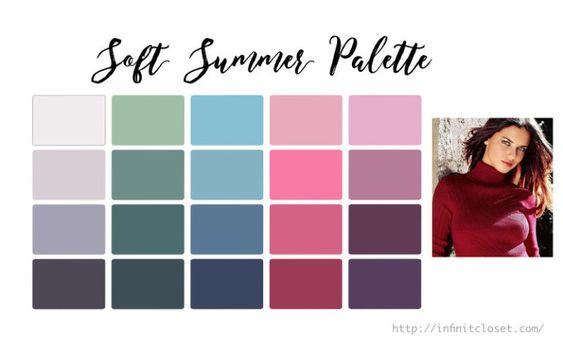 armocromia palette di colori estate soft