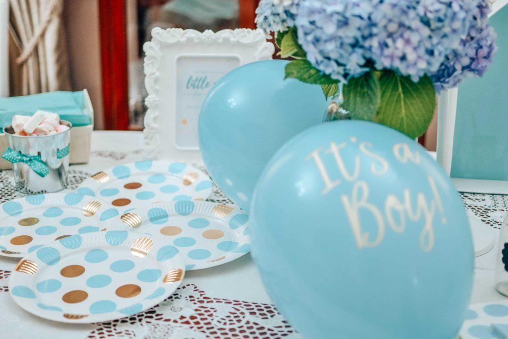 babyshower decorazioni paccoregalo.com