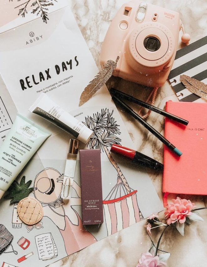 Beauty box Abiby per una beauty routine di lusso