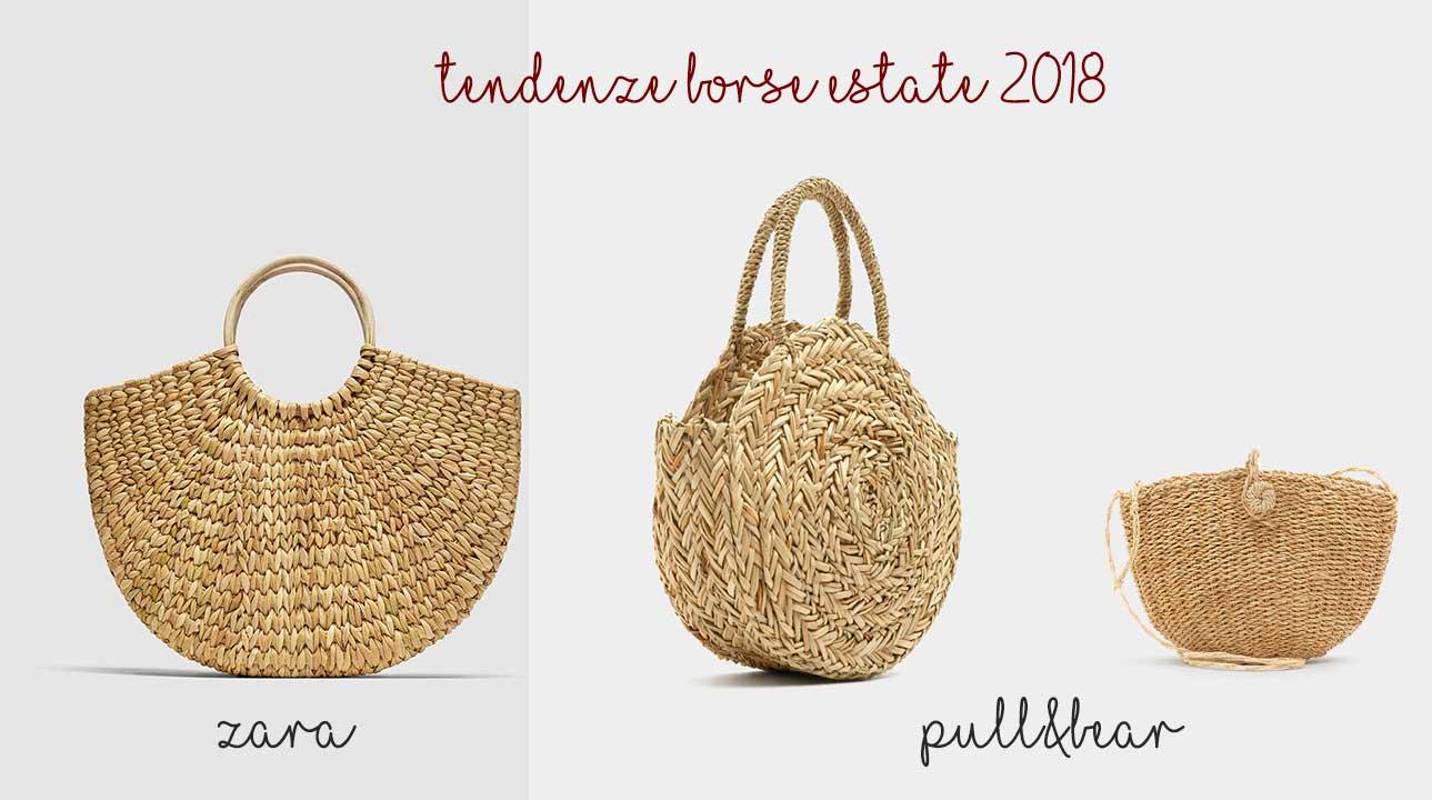 Borse Di Bambu : Accessori estate borse in bamb? rafia o basket bag