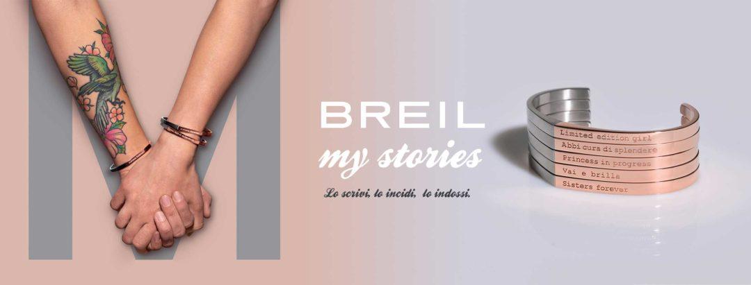 breil bracciali personalizzati my stories