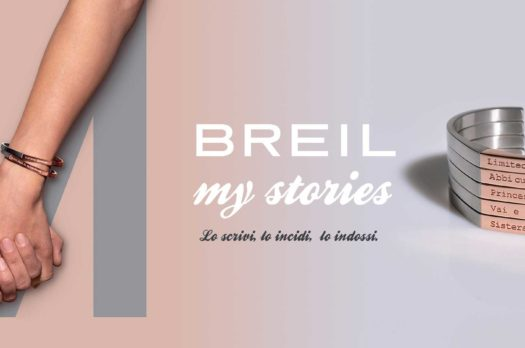 I nuovi bracciali Breil my stories, gioielli da personalizzare