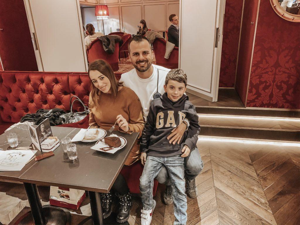 Café Sacher di Vienna