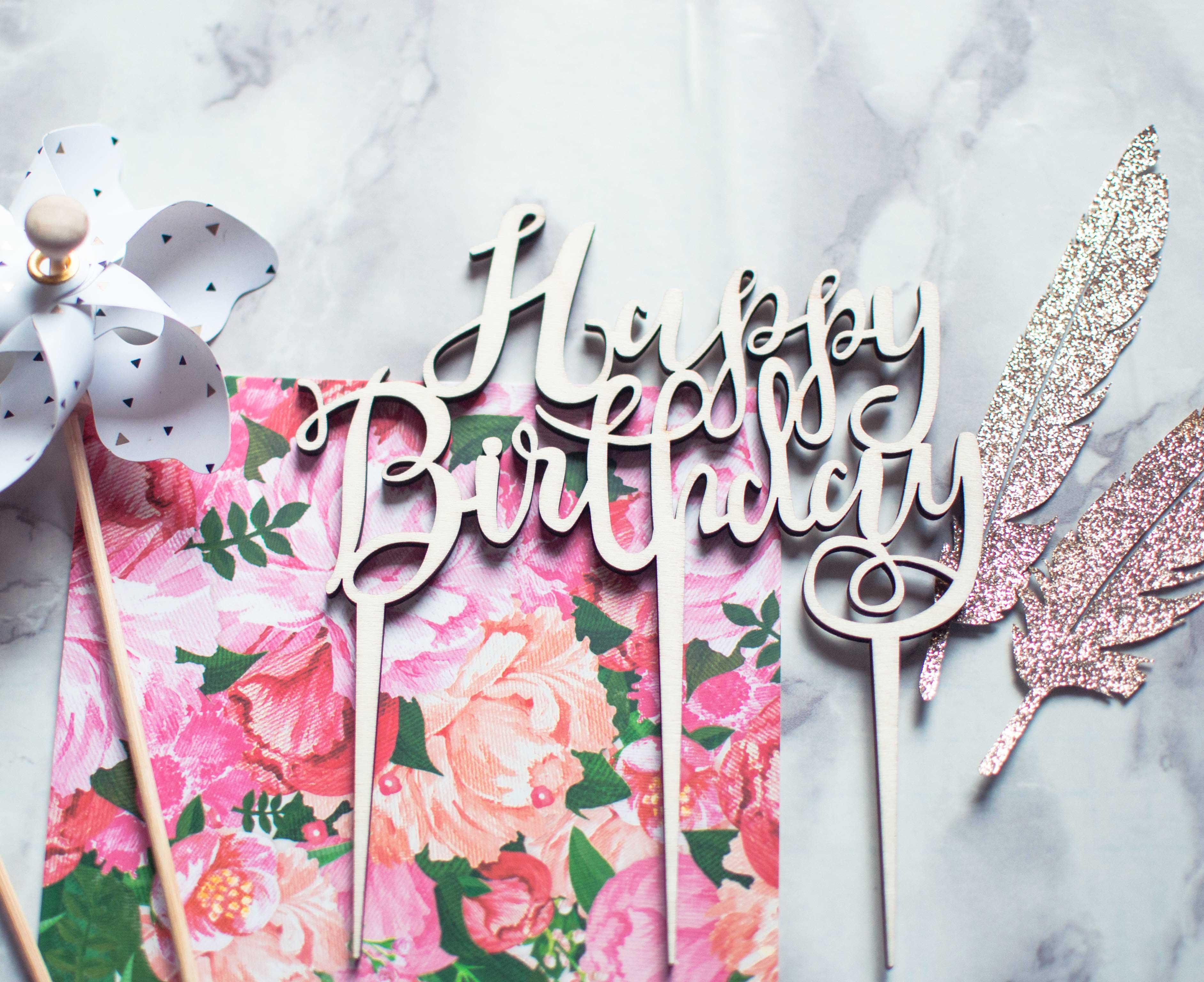 cake topper su pacco regalo.com
