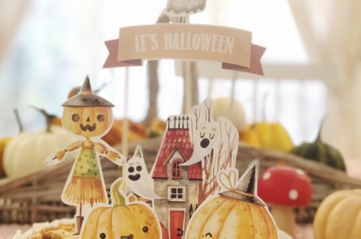 Cake topper di Halloween in regalo