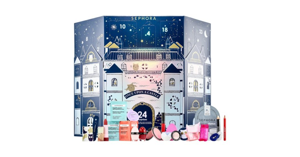 calendario avvento beauty sephora natale 2018