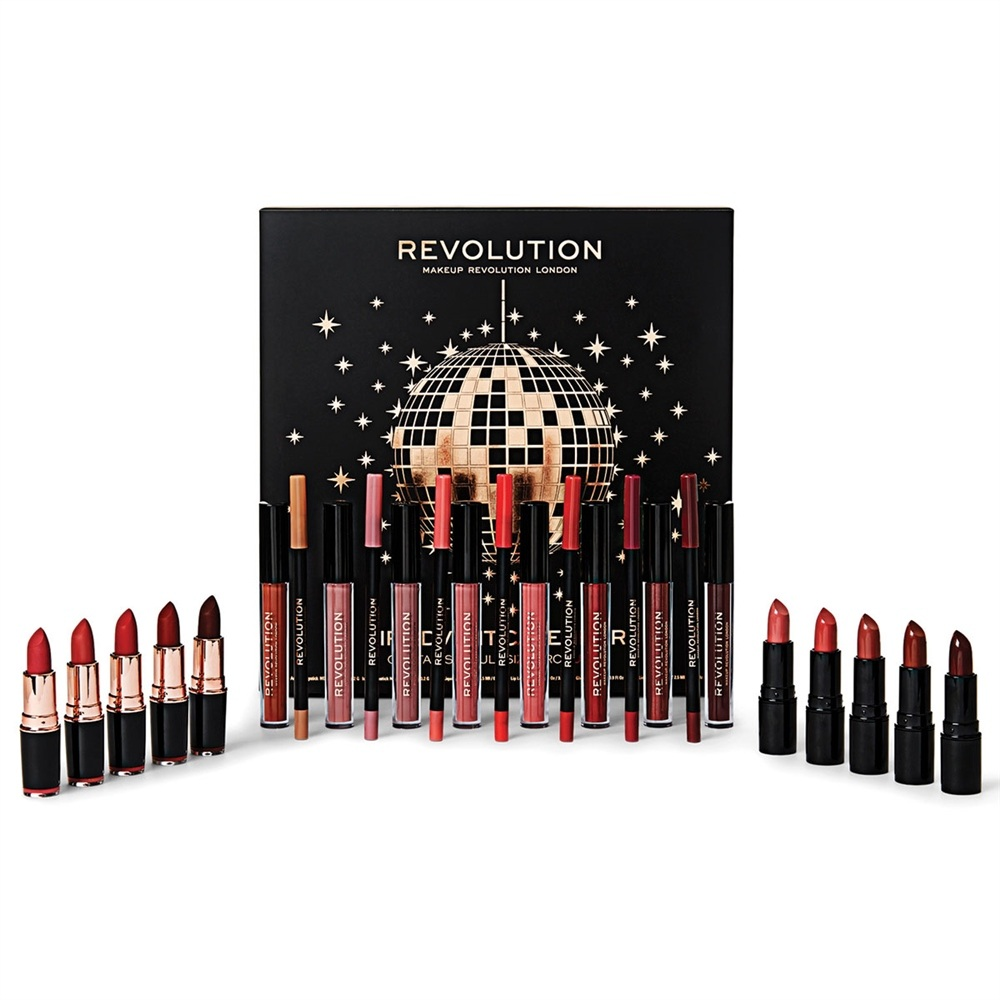 calendario avvento make up revolution natale 2018