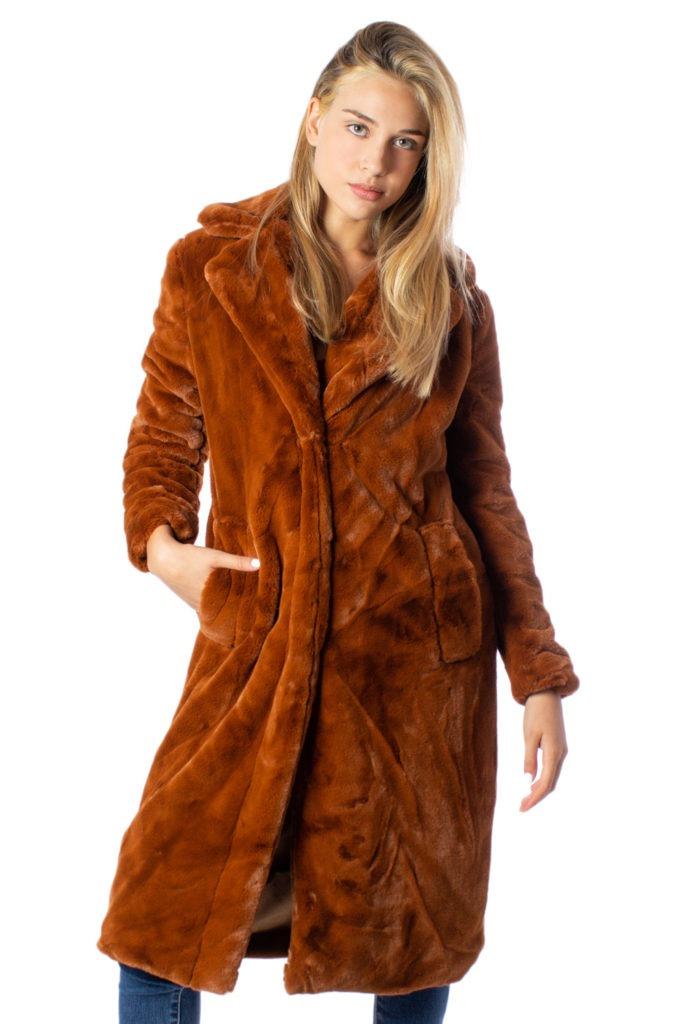 Cappotto teddy coat color cammello