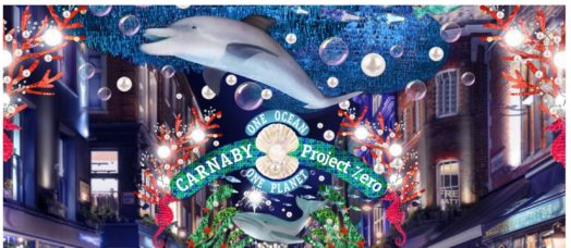 Carnaby street e le luci di Natale 2019