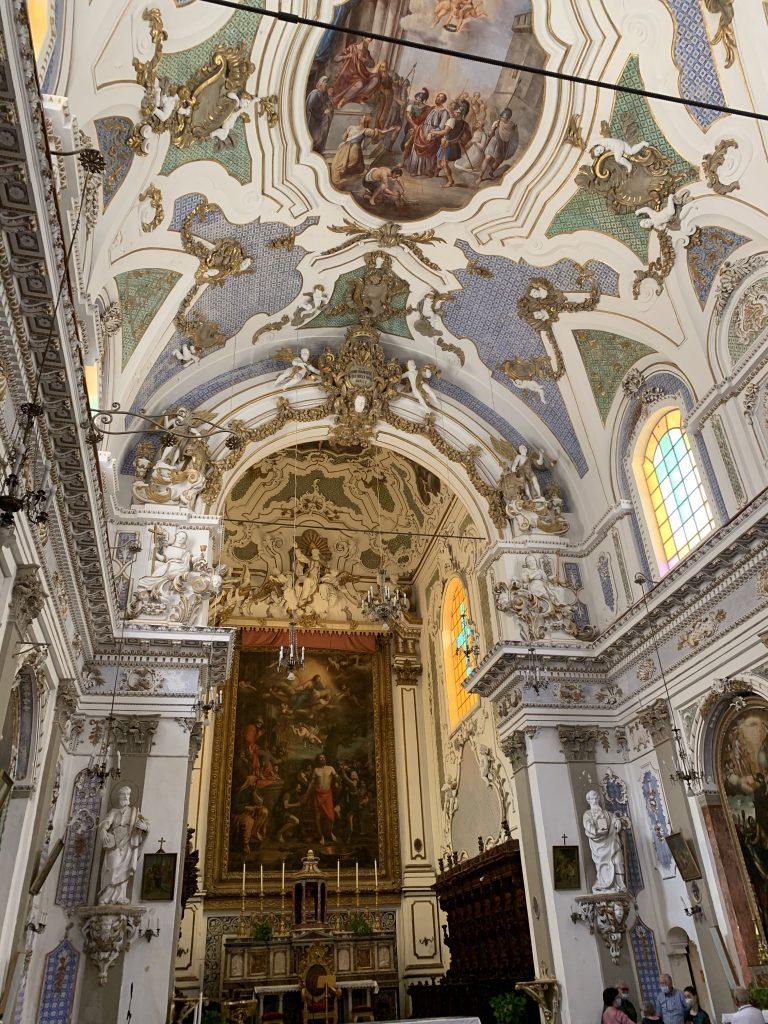 interno chiesa san bartolomeo scicli
