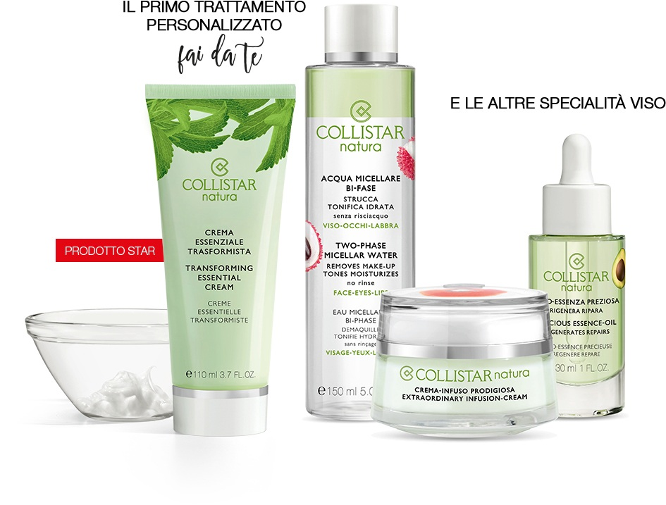 Collistar natura linea beauty naturale