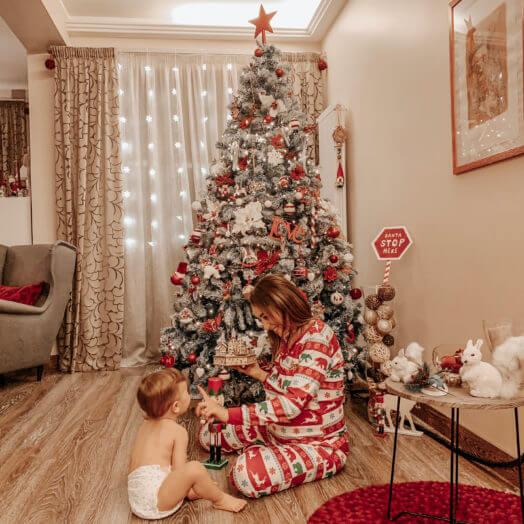 come decorare casa per le feste di Natale con Euronova