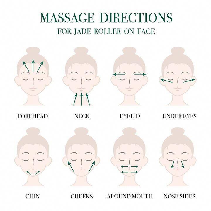 massaggi con rullo al quarzo rosa