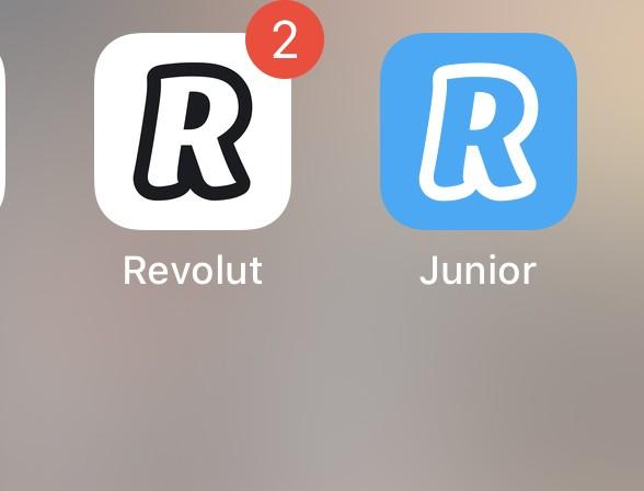 app revolut e revolut junior