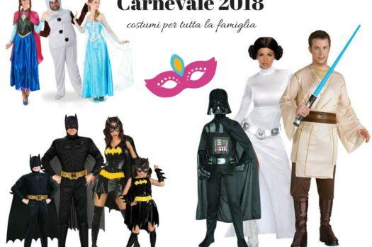 Idee ed ispirazioni per costumi di Carnevale per tutta la famiglia