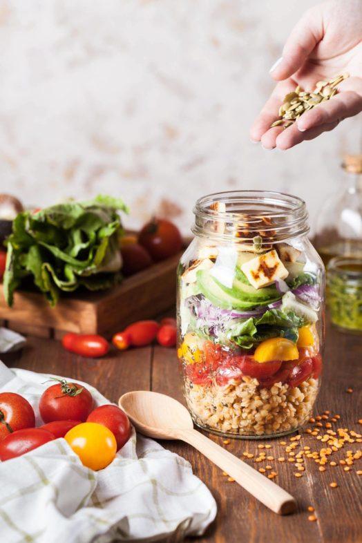 cous cous con verdure e feta ricetta vegetariana vegana