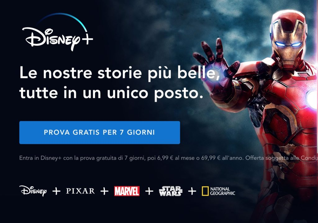 disney plus la nuova piattaforma streaming