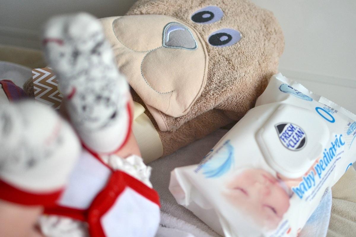 fresh & clean Baby Pediatric salviettine per neonati