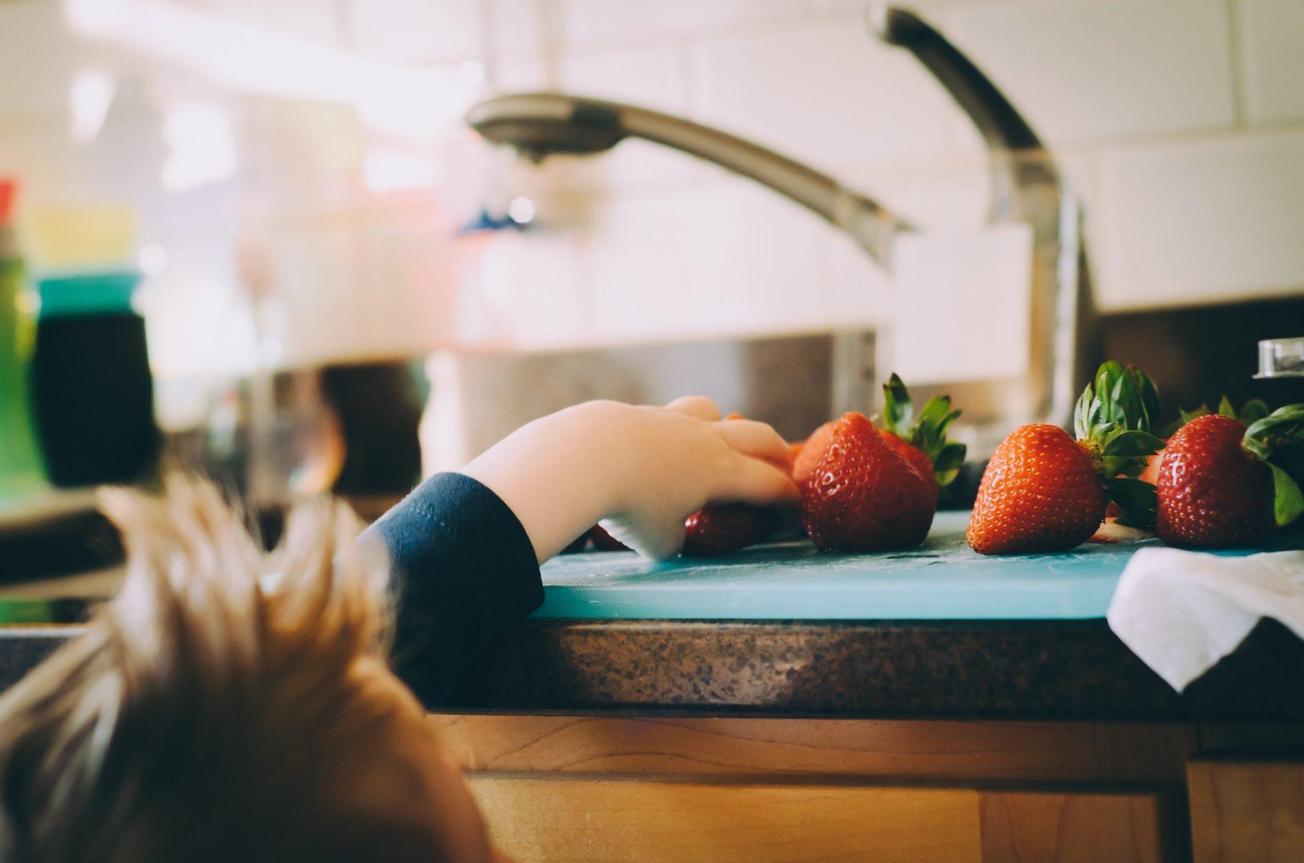 ricette per far mangiare frutta e verdura ai bambini