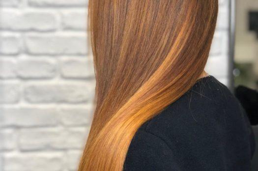 Ginger hair con Botanea da Mirko Battipaglia hairstylist
