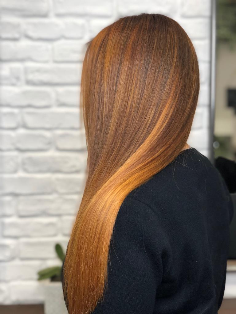 ginger hair con botanea da Mirko Battipaglia