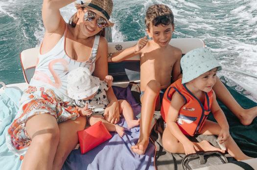Gita in barca con bambini: guida su come divertirsi e rilassarsi