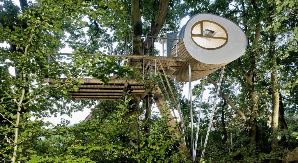 Green house in Germania hotel sugli alberi