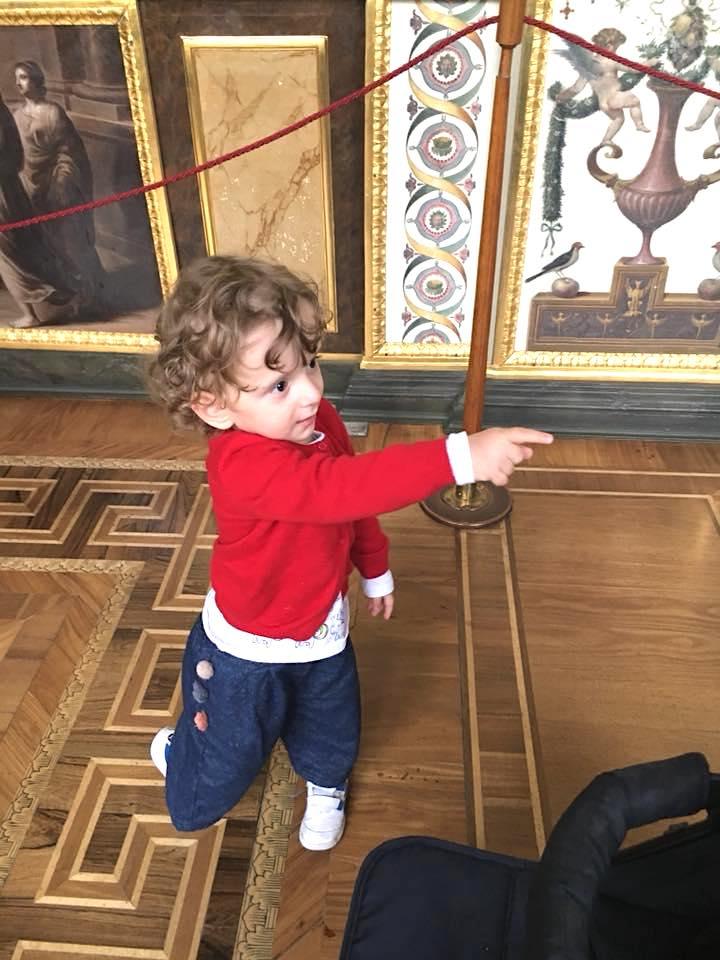 Visitare l'Hermitage con bambini