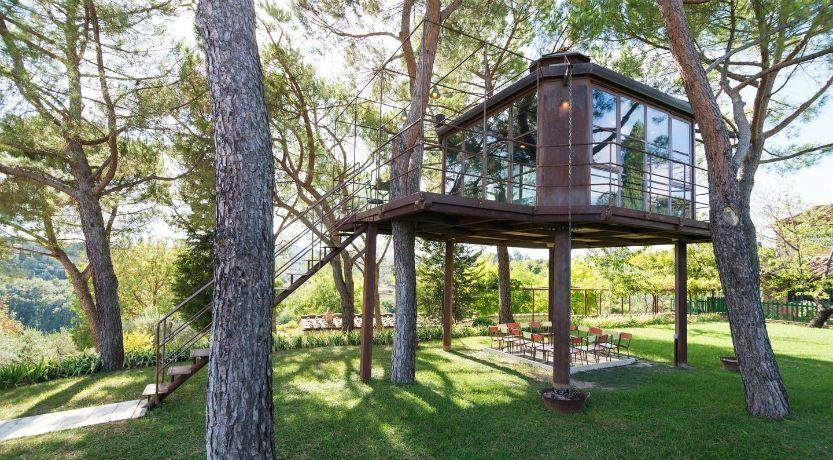 hotel sugli alberi, quello di Siena