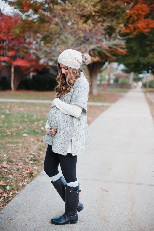 idee outfit per gravidanza in inverno