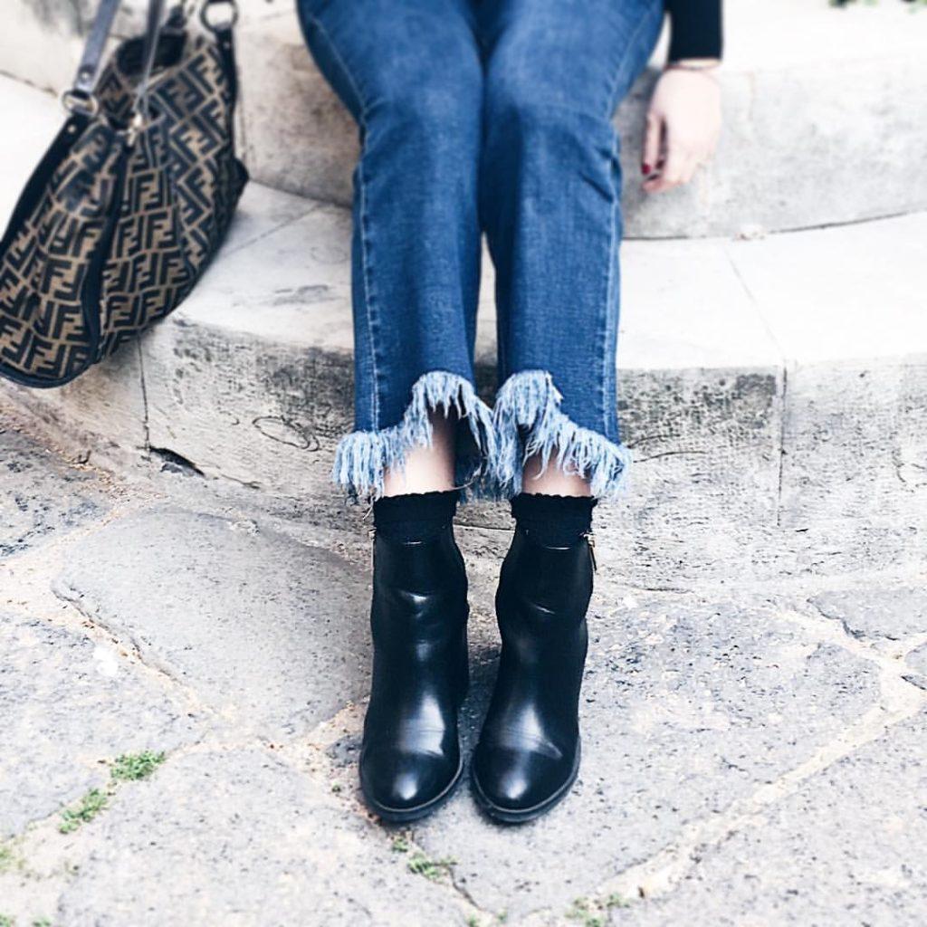 jeans flare come abbinarli
