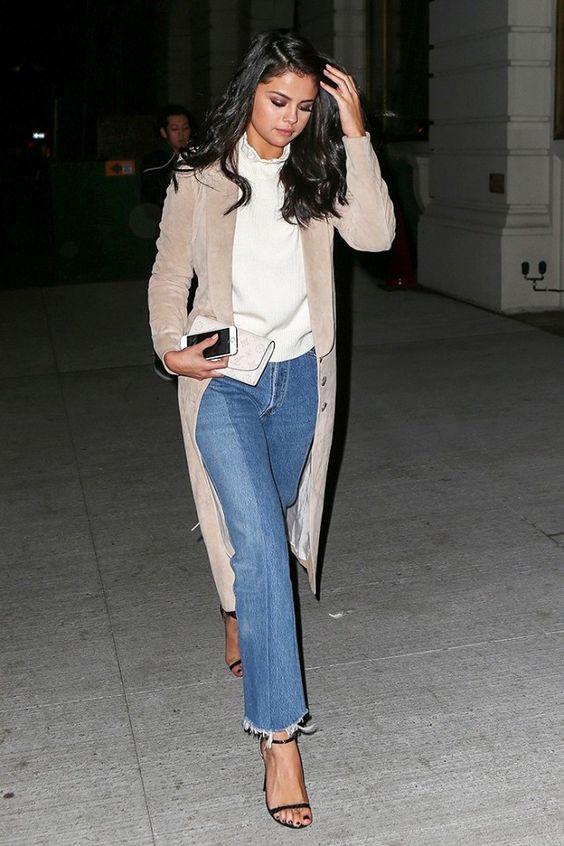 jeans flare selena gomez