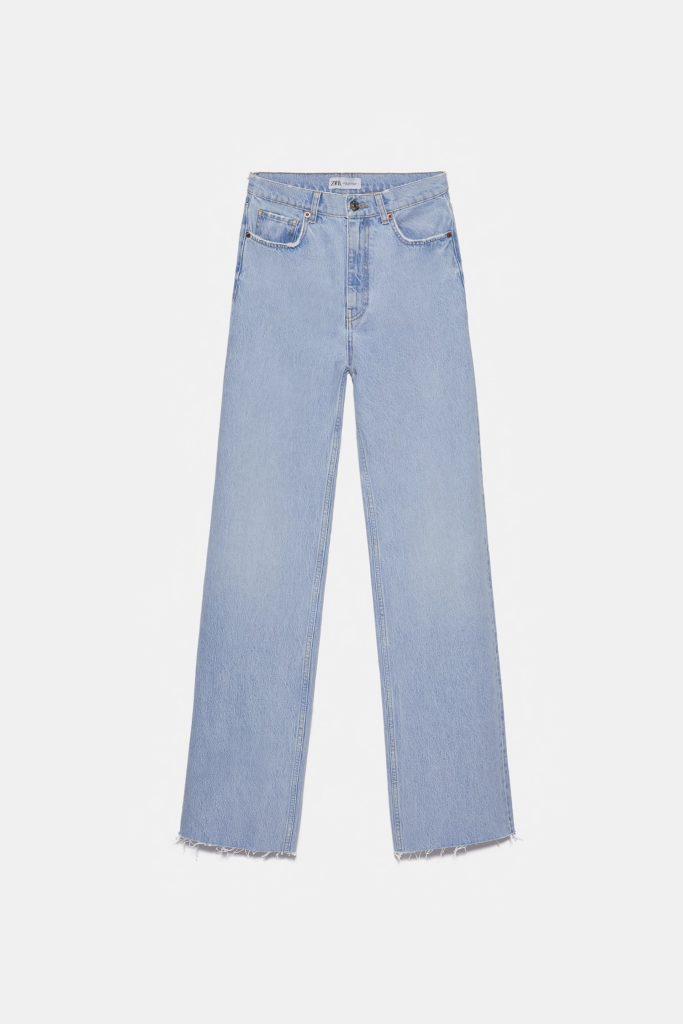 jeans oversize di zara