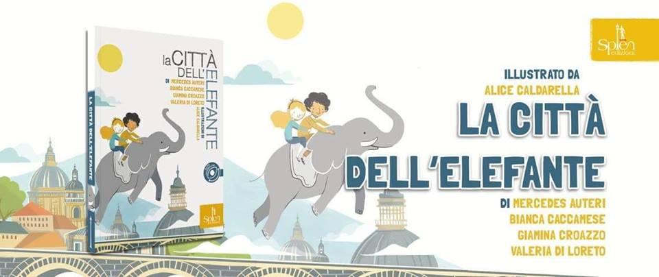 libro su Catania la città dell'elefante