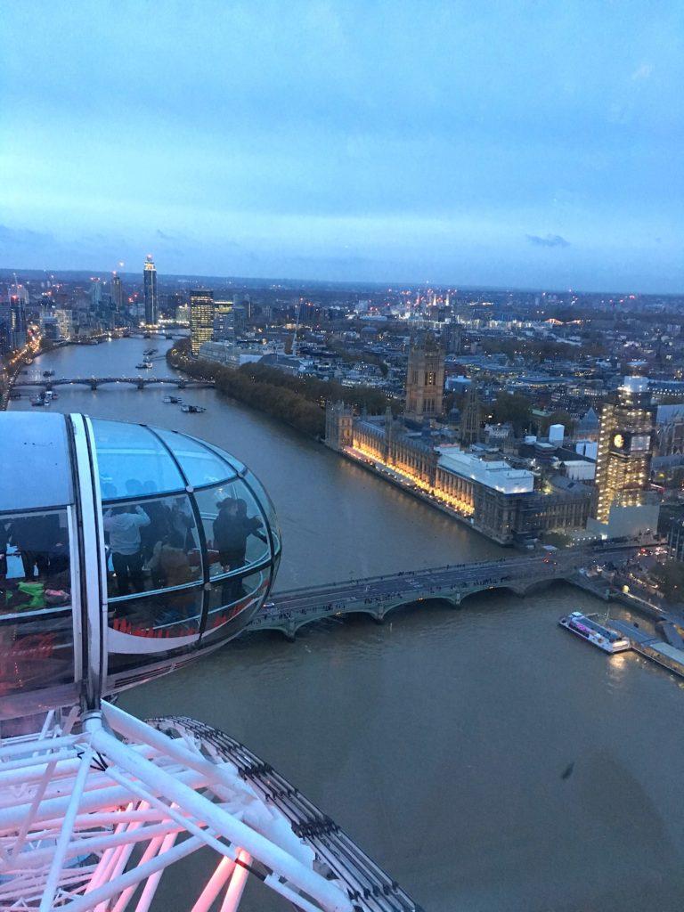 weekend a Londra, giro sulla London Eye