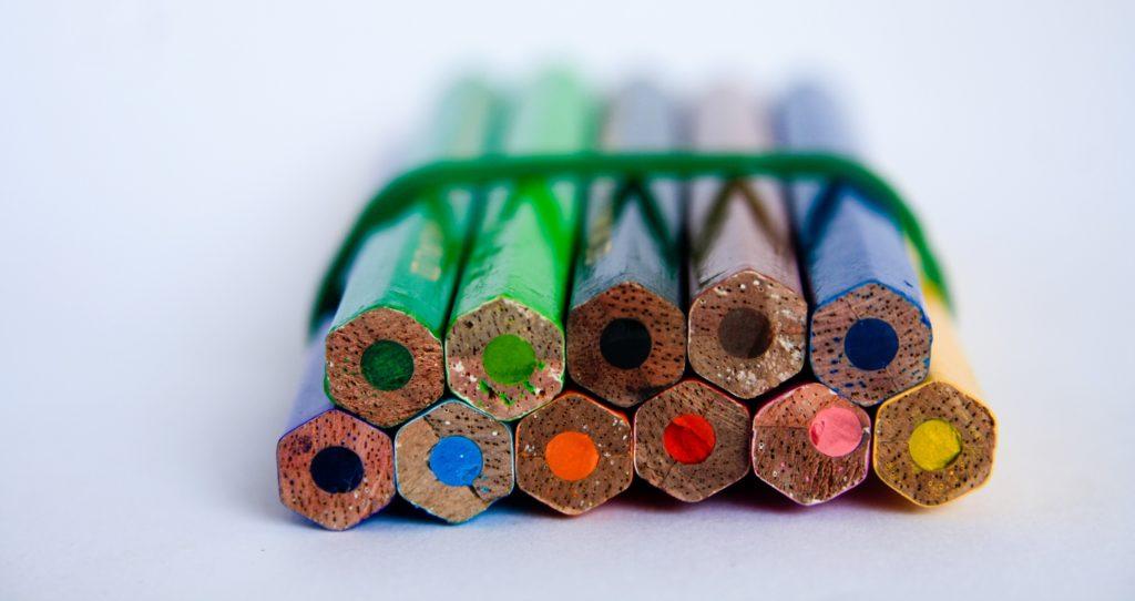matitoni per agevolare l'impugnatura dei bambini