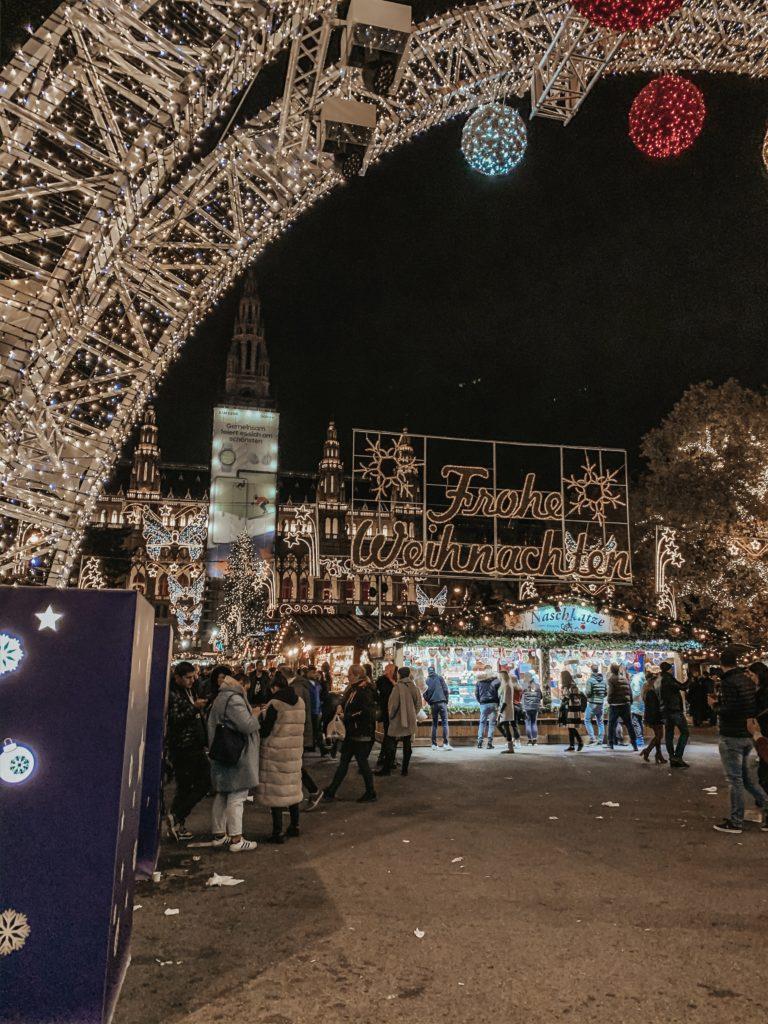 mercato di Natale Rathausplatz