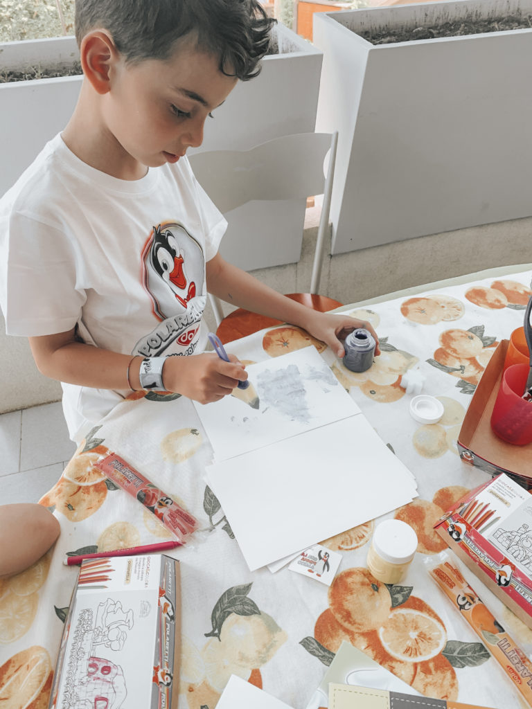 merenda creativa per bambini con polaretti