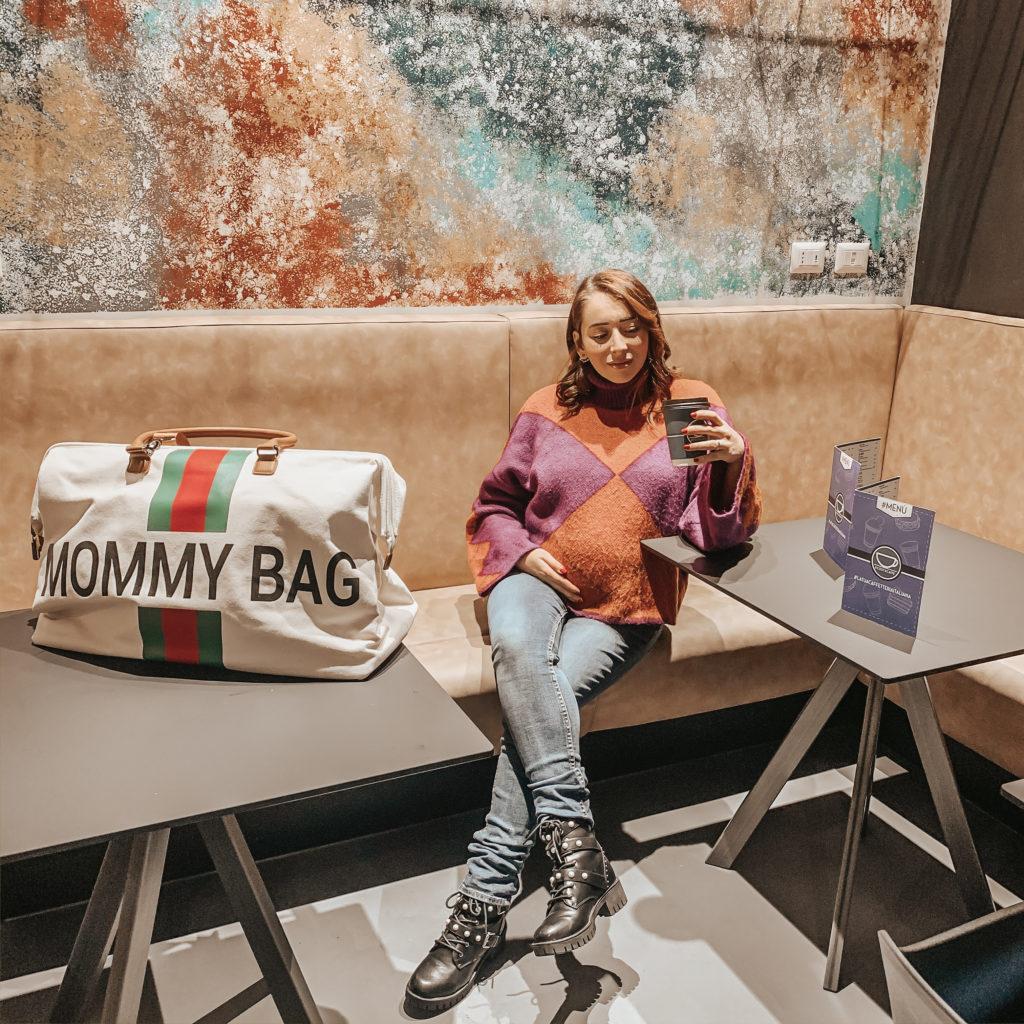 mommy bag valigia per il parto