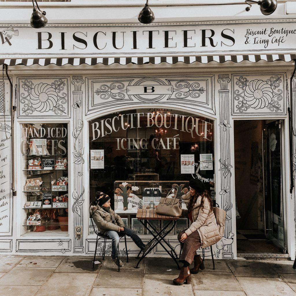 biscuteers negozio di biscotti a Notting Hill instagrammabile