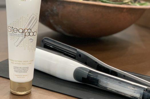La nuova piastra per capelli  a vapore L'Orèal SteamPod 3.0