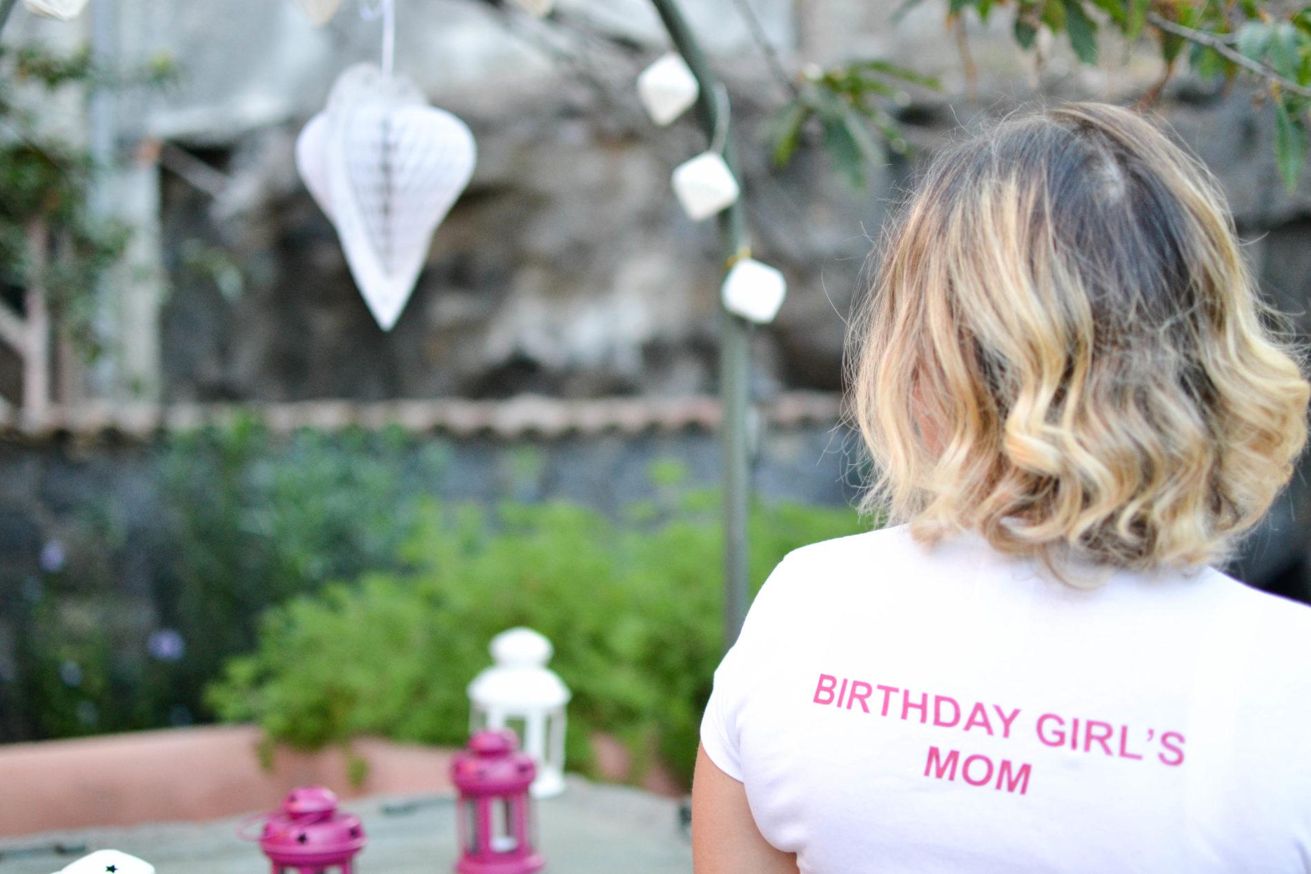 come organizzare primo compleanno in giardino