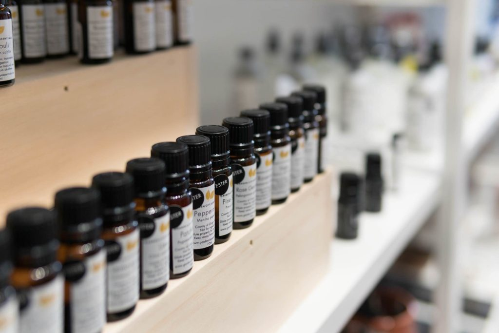 pelle in inverno olii essenziali