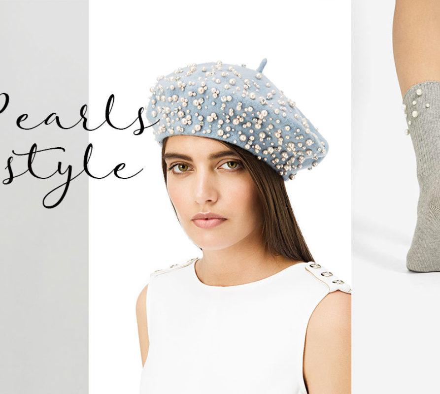 Tendenze moda 2017: perle su abiti e accessori